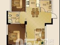 星汇半岛二期赠送阁楼30平,大露台,3室2厅1卫 可做4室 全新毛坯不满2年