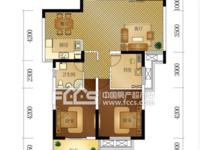 星汇半岛二期,17楼 33楼,119.88平,全新毛坯,3室2厅1卫,不满2