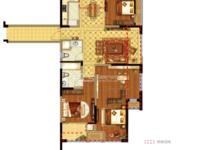 国贸仁皇二期9楼 4室2厅2卫 毛坯七月即将交房 带车位一个总价195万!