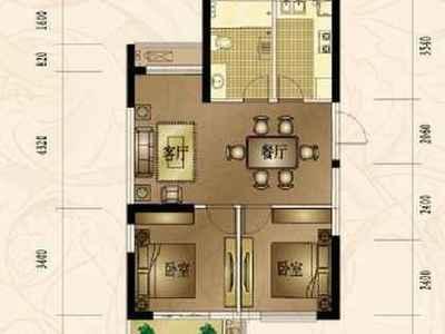 八里店前村,西山北区,电梯房,2室,全新精装,家具家电齐全