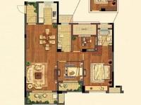 祥生悦山湖18楼 3室2厅 西边套 110.65平 全新毛坯 190万带产权车位